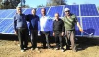 Elektrik Faturası Ağır Gelince Köye Güneş Paneli Kurdu