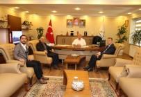 İHA Ve İhlas Pazarlama'dan Başkan Bıyık'a Ziyaret