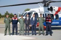İl Jandarma Komutanlığı Havadan Trafik Denetimi Gerçekleştirdi