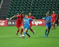 MEDINE - Kadınlar Avrupa Futbol Şampiyonası Açıklaması Türkiye Açıklaması 1 - Slovenya Açıklaması 6 (Maç Sonucu)