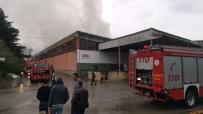 Kocaeli'de Karton Ve Mobilya Deposunda Yangın