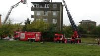 Tuzla'da 4 Katlı Bina Alev Alev Yandı