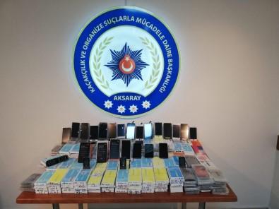 Aksaray Ve İstanbul'da Kaçak Cep Telefonu Operasyonu Açıklaması 2 Tutuklama
