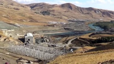 Alparslan-2 Barajı'nda Çalışmalar Devam Ediyor