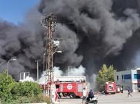 Antalya'da Soğuk Hava Deposunda Yangın