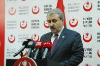 Zeytin Dalı Harekatı - BBP Genel Başkanı Destici Açıklaması 'Kuzey Suriye'de Teröristler Bulundukça Türkiye Güvende Olmayacak'