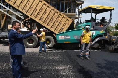 Çorlu'da İlk 10 Ayda 60 Bin Ton Asfalt Serildi