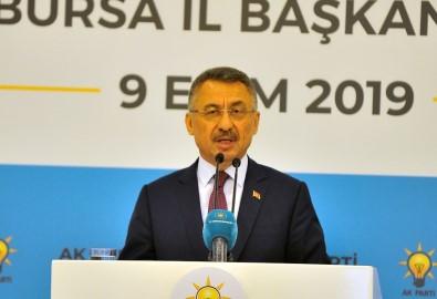 Cumhurbaşkanı Yardımcısı Fuat Oktay Operasyonla İlgili Konuştu