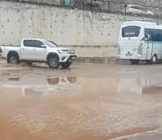 Erdek Otogarı Yağmur Sonrası Göle Döndü