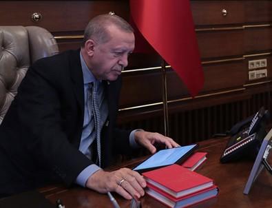 Erdoğan'ın harekat emrini verdiği anın görselleri paylaşıldı