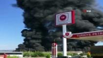 GÜNCELLEME - Antalya'da Soğuk Hava Deposunda Yangın