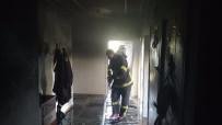 Kahta'da Ev Yangını