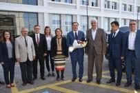ŞEREF MALKOÇ - Kamu Baş Denetçisi  Şeref Malkoç'tan MTÜ'ü Ye Ziyaret