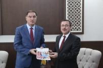 ŞEREF MALKOÇ - Kamu Başdenetçisi Şeref Malkoç, Rektör Kızılay'ı Ziyaret Etti