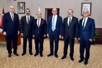 Kaymakam Sağlam Ve Başkan Kayda'dan Rektör Ataç'a Ziyaret