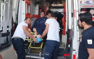Kazara Kendini Vuran Şahıs Yaralandı