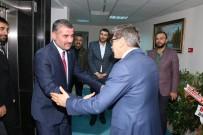 ALI KAYA - MHP'den Emniyet Müdürü Ercan Dağdeviren'e Ziyaret