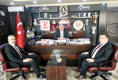 MHP İl Başkanı Karapıçak'tan Gür'e İade-İ Ziyaret