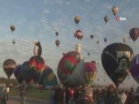 NEW MEXICO - Sıcak Hava Balonları Gökyüzünü Renklendirdi