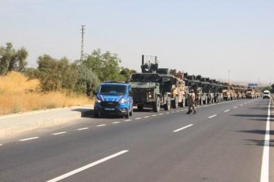 Suriye Sınırına Komando Sevkıyatı