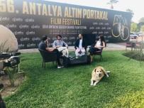 ALI AYDıN - Altın Portakal'da Canlı Yayının Davetsiz Sevimli Misafiri