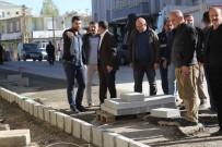KALDIRIMLAR - Başkale Belediyesinden Kaldırım Çalışması