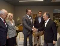 AHMET NUR ÇEBİ - Başkan Akpolat'tan, Ahmet Nur Çebi'ye Hayırlı Olsun Ziyareti