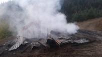 Çatalzeytin'de Ev Yangını