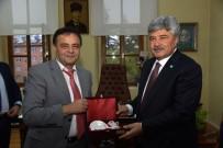 İYİ Parti Genel Başkan Yardımcısı Ergun'dan, Başkan Şahin'e Ziyaret