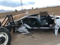 Kahramanmaraş'ta Trafik Kazası Açıklaması 2 Yaralı