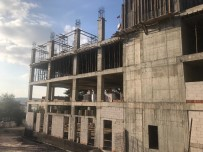 Kandıra'daki Yeni Belediye Binası Hızla Yükseliyor