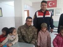 Kur'an Kursu Öğrencilerinden İlçe Jandarma Komutanlığına Ziyaret