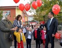 Minikler Mehmetçik'e Sevgi Balonuyla Selam Gönderdi