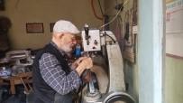 (Özel) 86 Yaşındaki Ayakkabı Tamircisi, Tükenmeye Yüz Tutmuş Mesleğiyle Direniyor