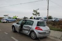 Tekirdağ'da Zincirleme Kaza Açıklaması 1 Yaralı