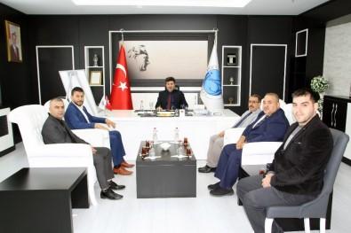 Türkiye Judo Federasyonundan Rektör Karacoşkun'a Ziyaret