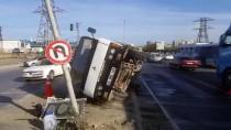 Başakşehir'de Trafik Kazası Açıklaması 1 Ölü, 4 Yaralı