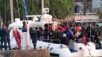 SRI LANKA - Çanakkale'de 97 Düzensiz Göçmen Yakalandı
