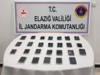 Elazığ'da Gümrük Kaçağı Telefonlar Ele Geçirildi