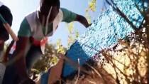 YABANCI ÖĞRENCİLER - Elazığ'da Yabancı Öğrenciler, Okul Bahçesini Geleneksel Oyunlar İçin Hazırladı