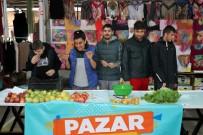ESNAF VE SANATKARLAR ODASı - Pazar Tezgahında Ürün Satan Otizmli Bireylerin Mutlulukları Gözlerinden Okundu