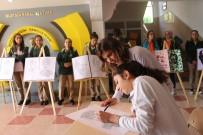 ÖMER CAN - Siirtli Öğrencilerden 10 Kasım'a Özel Sergi