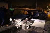 Sivas'ta Trafik Kazası Açıklaması7 Yaralı