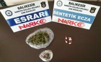 Balıkesir Polisi 55 Uyuşturucu Tacirini Yakaladı