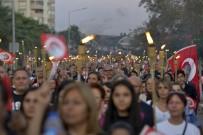 Binler 'Ata'ya Saygı Yürüyüşünde' Buluştu