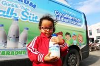 YALıKAVAK - Çocukların Halk Süt Sevinci