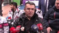 Erzurum Valisi Okay Memiş, Tekerlekli Sandalyede Curling Oynadı
