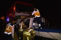 TAKSIM - Esenler'de Trafik Kazası Açıklaması 1 Yaralı
