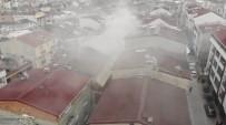 Esenyurt'ta Çatı Yangını Ucuz Atlatıldı