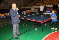 Gebze'de Masa Tenisi Turnuvası Başladı